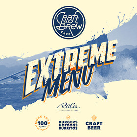 Extreme menu в Craft Brew Cafe