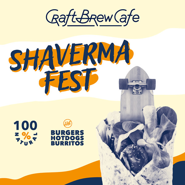 Shaverma Fest в Craft Brew Cafe